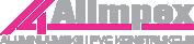 Proizvodnja aluminijumske i pvc konstrukcije – Alimpex Logo
